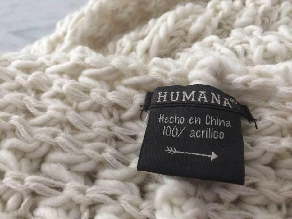 Bufanda, Humana