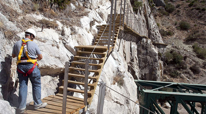 The Caminito del Rey will open Easter (29th March to 6th April ) 2015