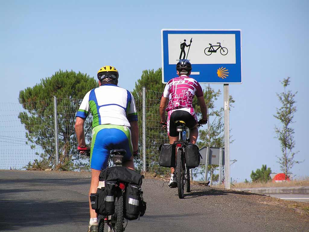 cartel camino de santiago
