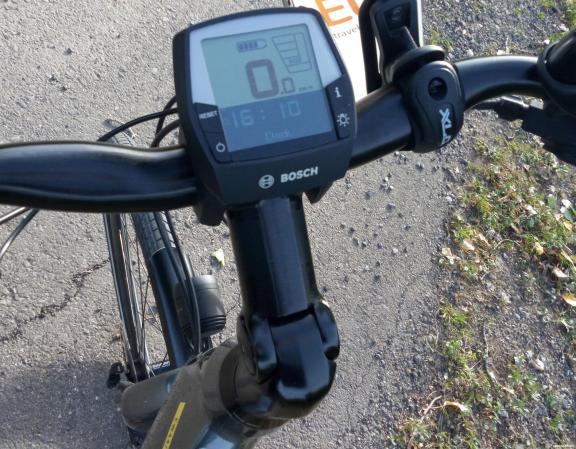 Camino de Santiago en e-bike: ejemplo de control de mando