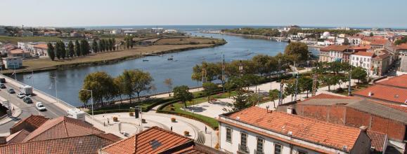 Camino Portugués por la Costa en bici - Vistas de Vila do Conde