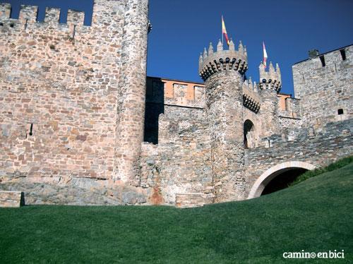 Qué ver durante el Camino de Santiago desde León - Castillo de los Templarios - Ponferrada