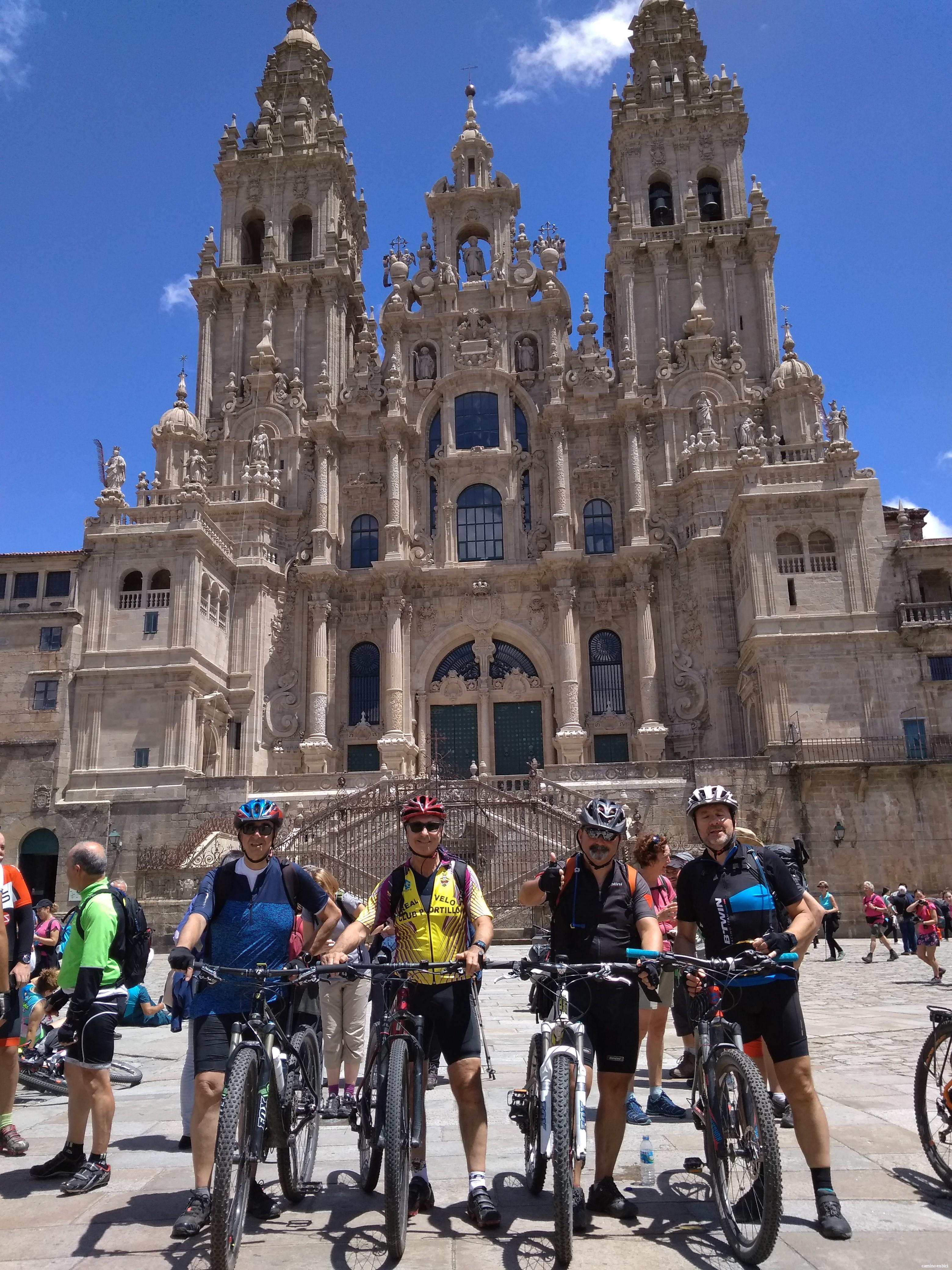 Camino de Santiago grupo