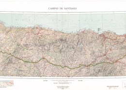 Mapa Camino Frances ign