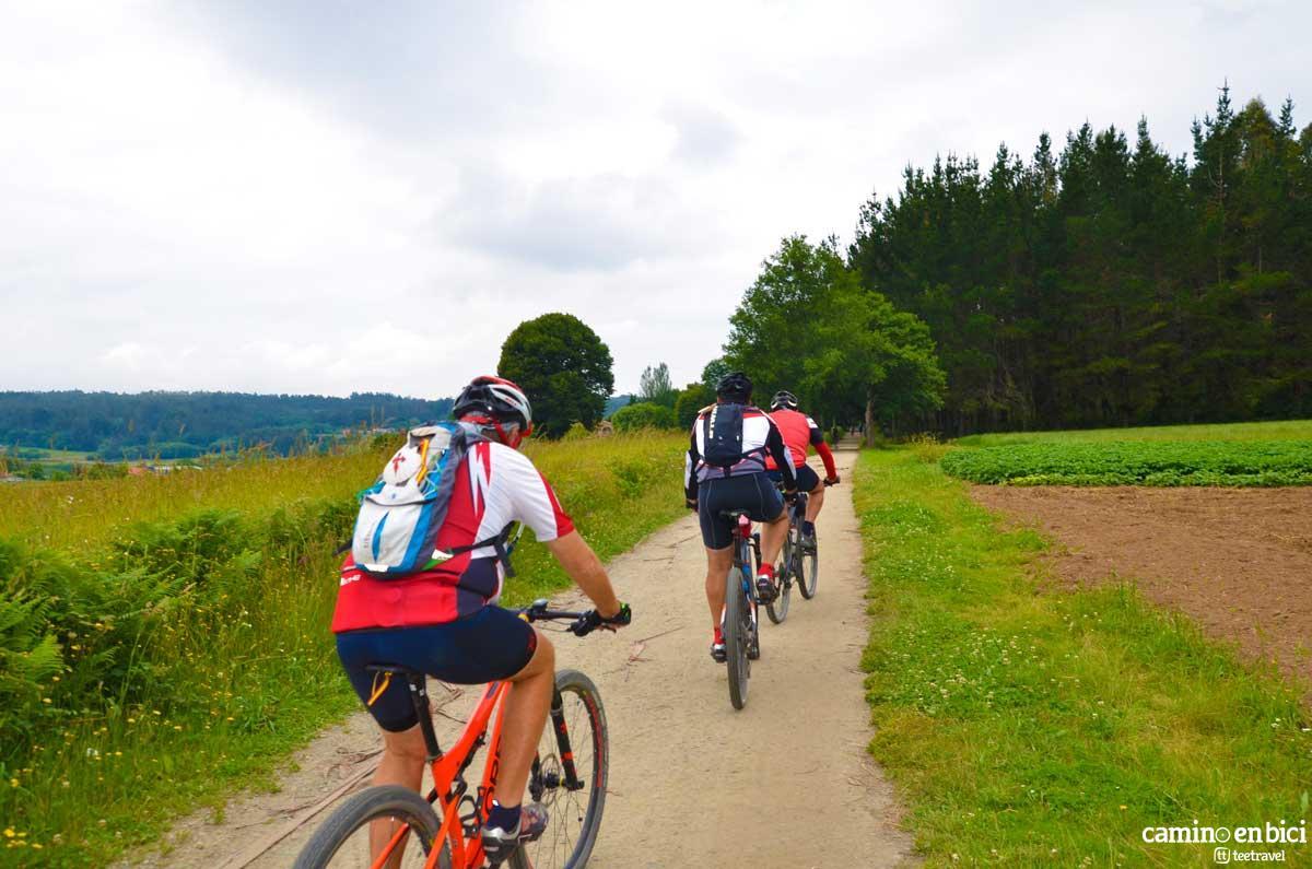 Camino de Santiago Francés en Bicicleta - Etapa Arzúa-Santiago de Compostela