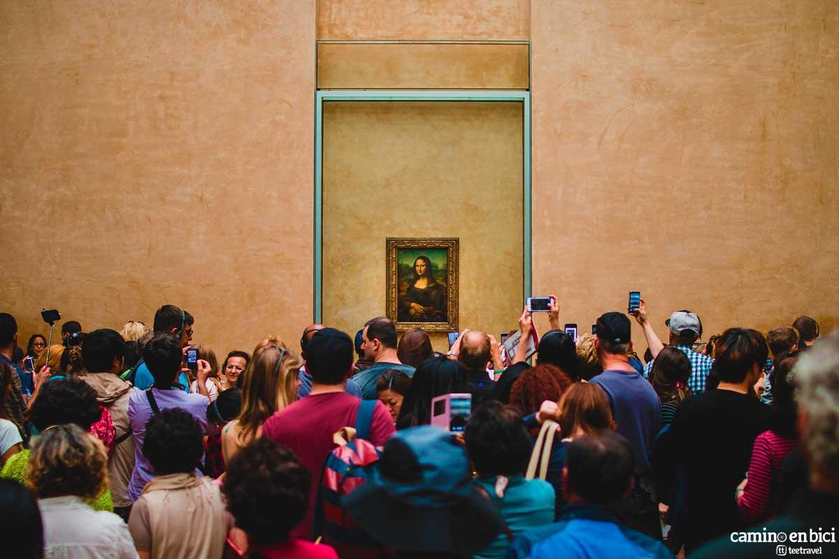 Francia - París - Musée du Louvre - La Gioconda - Mona Lisa - Leonardo da Vinci