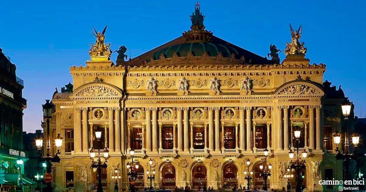 Francia - Paris - Ópera Garnier