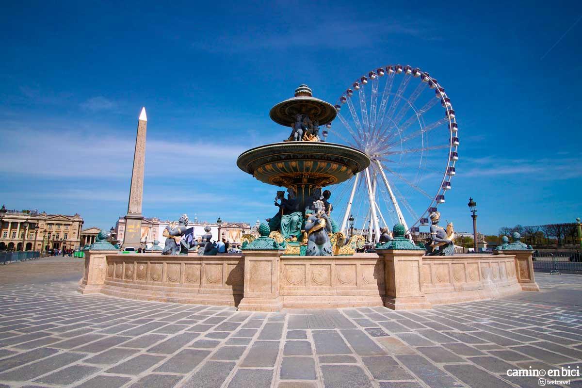 Francia - París - Plaza de la Concordia