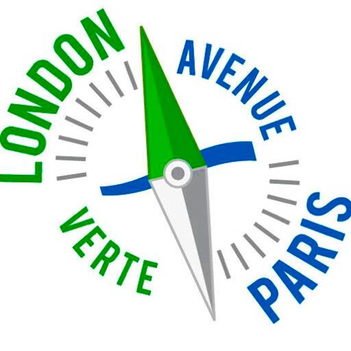Señalización de la Ruta en Bicicleta Avenida Verde: París-Londres