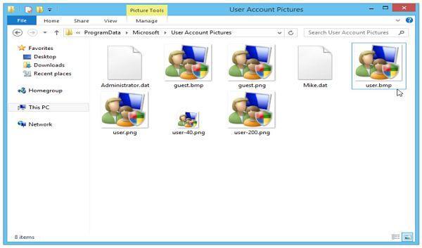 Cómo solucionar el error al configurar imagen de cuenta Windows 8/8.1