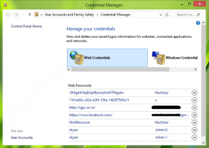 Resuelto Credential Manager no funciona correctamente en Windows 8 & 7-1