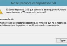 Solucionar No se reconoce el dispositivo USB en Windows 7 / 8 / 10