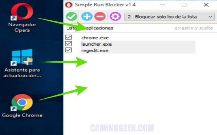 Cómo bloquear aplicaciones en Windows con Simple Run Blocker