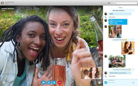 skype para mac y windows