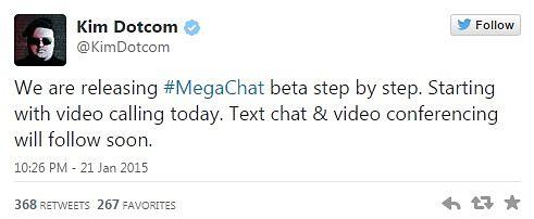 Mega-chat-tweet