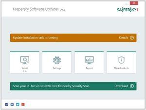 Kaspersky Software Updater: Cómo actualizar todo el software instalado en Windows