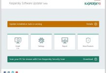 actualizar software con Kaspersky Software Updater