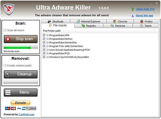 Cómo eliminar el adware en Windows con Ultra Adware Killer