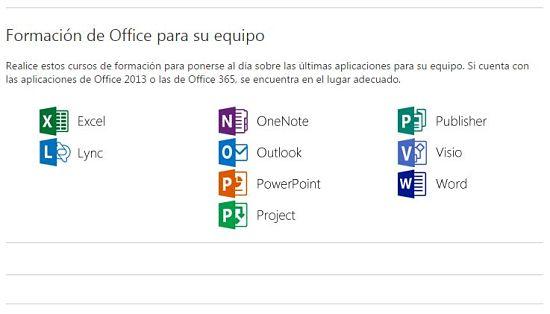 Cursos gratis para aprender Microsoft Office online