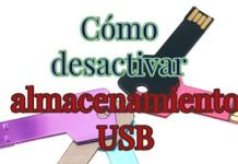 Como desactivar almacenamiento usb en Windows