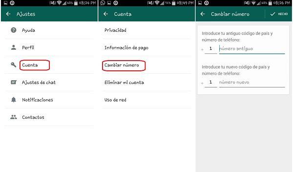 Tips y trucos de WhatsApp: cambiar número