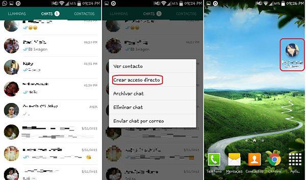 Tips y trucos de WhatsApp: acceso directo a chats
