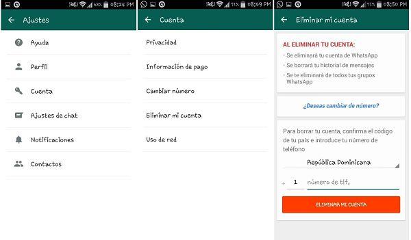 Tips y trucos de WhatsApp: eliminar cuenta de WhatsApp