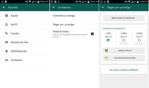Tips y trucos de WhatsApp: Pagar suscripción de amigo