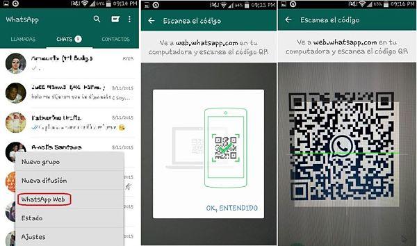 WhatsApp para PC con WhatsApp Web