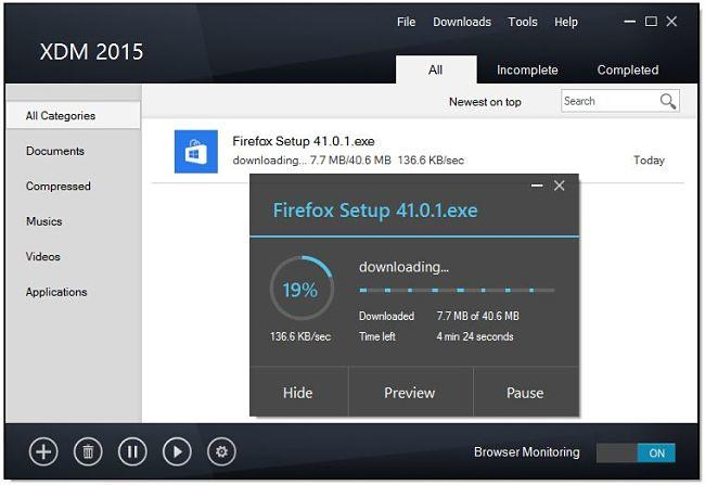 Xtreme Download Manager, un excelente gestor de descargas