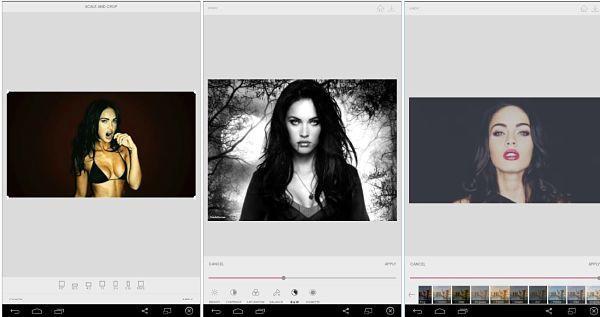 Cupslice - Aplicación para editar fotos en Android gratis