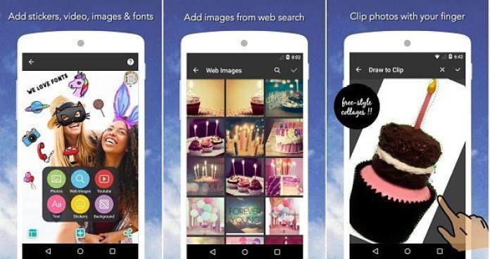 Pic Collage - Crear collage de fotos en Android