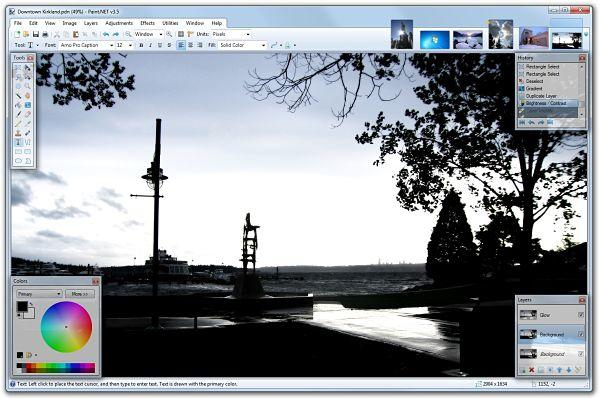 Paint.NET: Mejores programas para editar fotos gratis