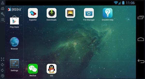 Droid4X es uno de los mejores emuladores Android para la PC