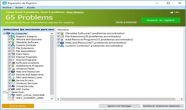Registry Repair: Uno de los mejores limpiadores de registro para Windows