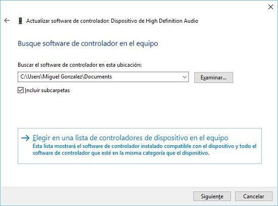 Cómo solucionar problema de audio en Windows 10; reparar drivers