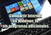 Cómo compartir Internet en Windows 10 con otros dispositivos.