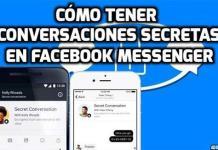 Cómo entablar conversaciones secretas en Facebook Messenger