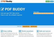 Servicio para editar archivos PDF online