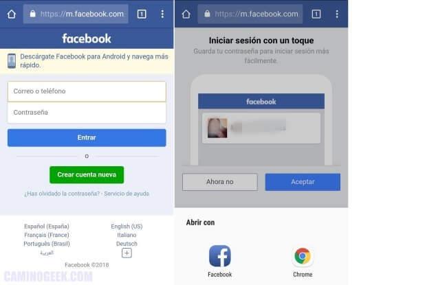 Cómo ver las solicitudes de amistad enviadas en Facebook desde Android