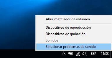 Cómo solucionar problema de audio en Windows 10; Solucionador de problemas