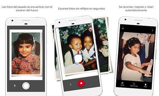 Cómo digitalizar fotos viejas o antiguas con Google PhotoScan