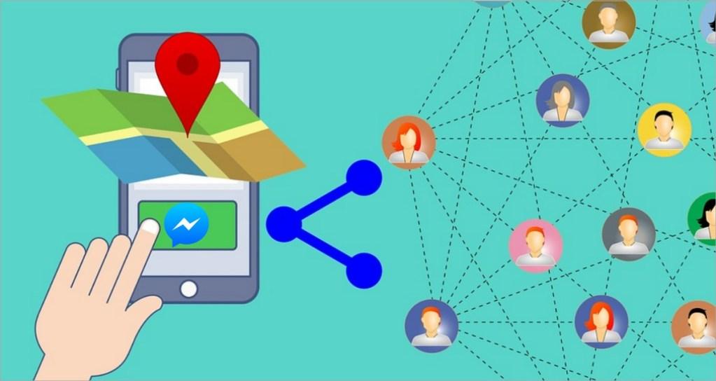 Cómo mandar ubicación por Facebook Messenger