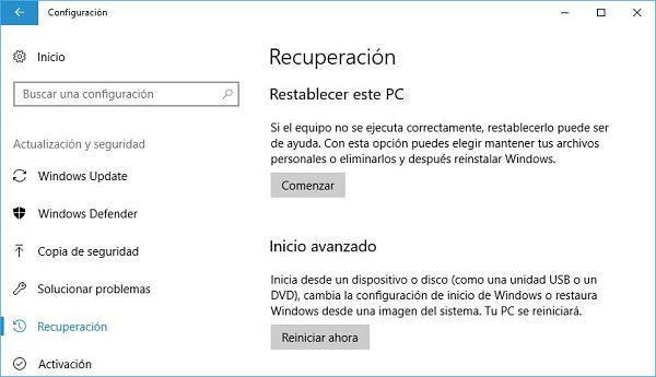 Restablecer el registro de Windows a valores predeterminados