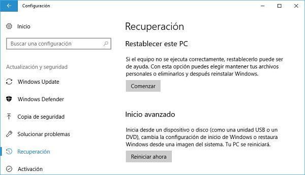 Restablecer el registro de Windows a valores predeterminados