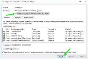 Error de acceso denegado: acceder a carpetas restringidas en Windows 10