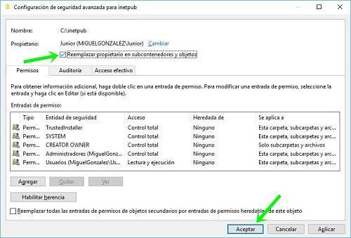 Solucionar acceso denegado a carpeta en Windows 10