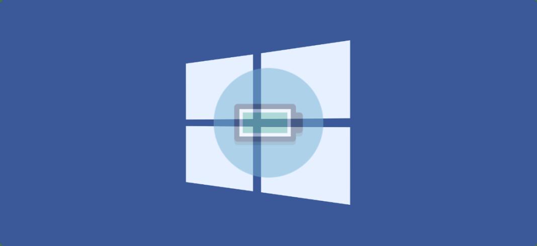 Solucionar icono de batería no aparece en Windows 10