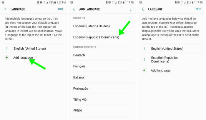 Cómo cambiar el idioma en Android