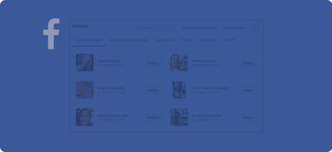 Cómo ocultar mis amigos en Facebook